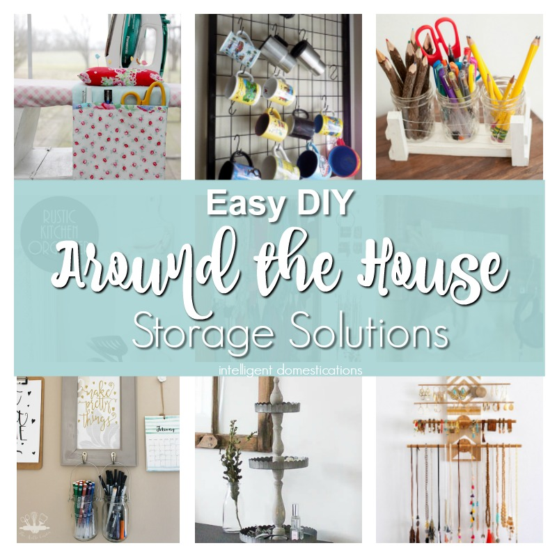 Easy DIY Storage Projects. DIY Storage for around the house. Merry Monday Features. DIY Storage projects. Storage Solutions.