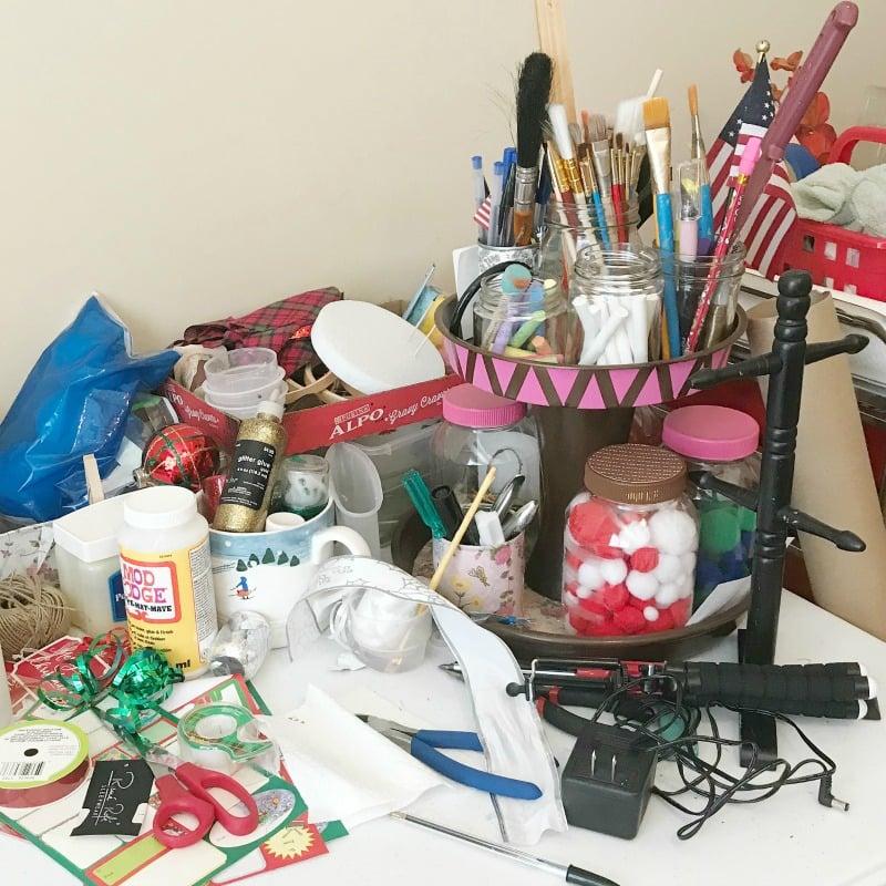 Craft Room Makeover Week Three. Purge and Sort Ideas