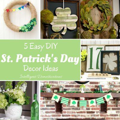 5 Easy DIY St. Patrick's Day Decor Ideas (Merry Monday 193)