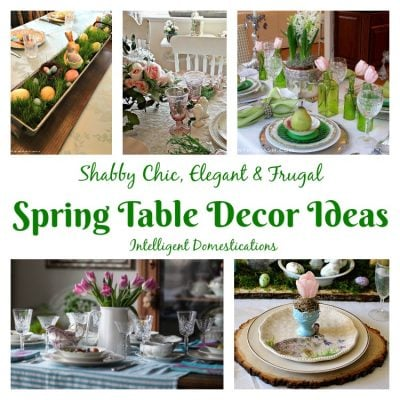 Spring Table Decor Ideas (Merry Monday 195)