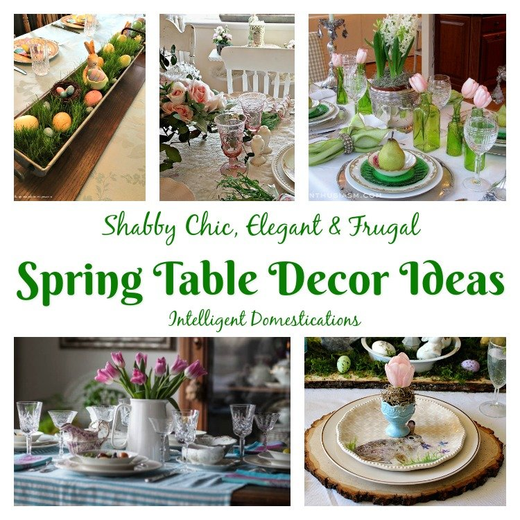 18 Spring Decor Ideas: Spring Table Decor Ideas (Merry Monday 195)