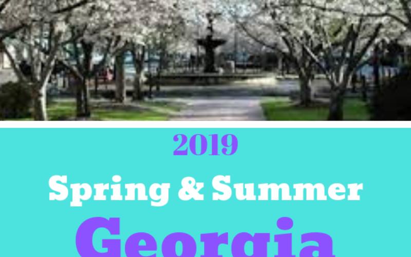 2019 Fairs and Festivals in Georgia USA #springfestivals #summerfestivals #exploregeorgia