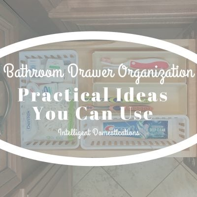 Bathroom Drawer Organization Practical Ideas
