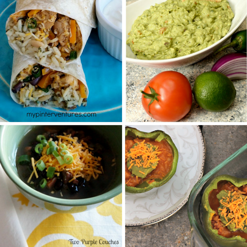 These Mexican Dinner Recipe Ideas are all perfect for any weeknight meal so be sure to add them to your menu! Mexican weeknight meal ideas. Easy Mexican recipes. #mexicanmeal #mexicanrecipes #cincodemayo
