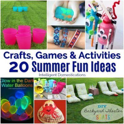20 Summer Ideas For Kids (Merry Monday 207)