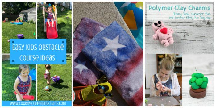 Summer Family Fun Ideas. Things to do for summer fun at home.#Summerfun