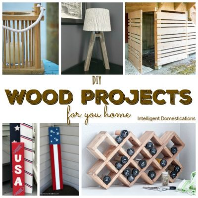 DIY Wood Project Ideas For Your Home