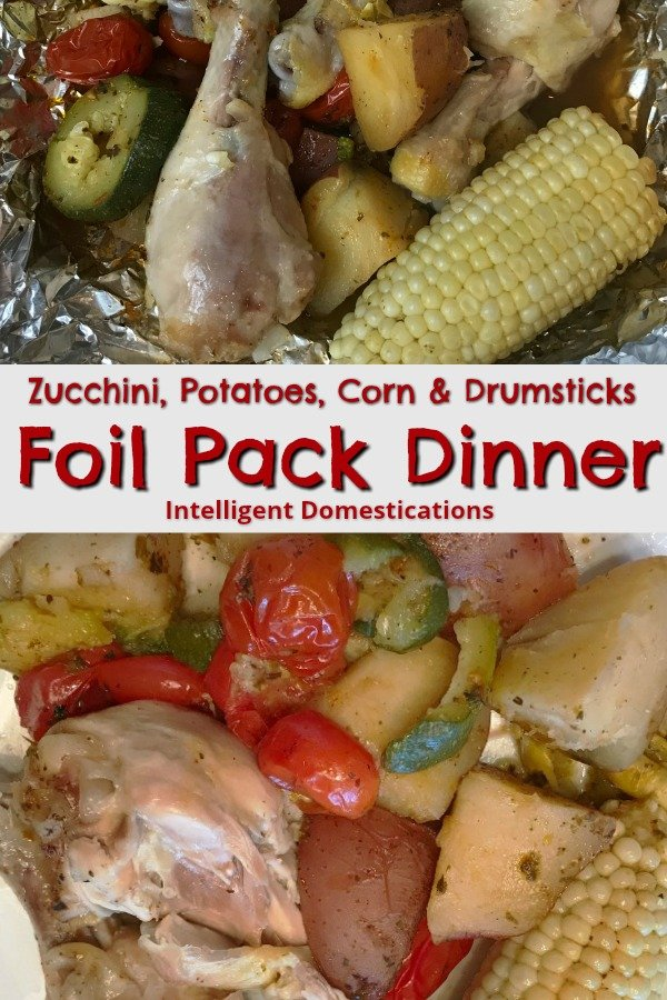 Foil Pack dinner ideas. How to cook a foil pack dinner. #foilpackdinner