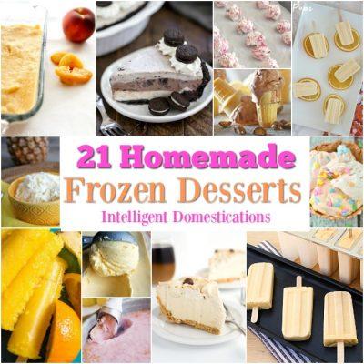 21 Homemade Frozen Summer Desserts MM 212