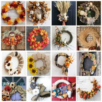 DIY Fall Wreath Ideas (Merry Monday 220)