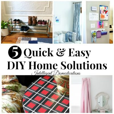 5 Quick DIY Home Decor Solutions (Merry Monday 218)