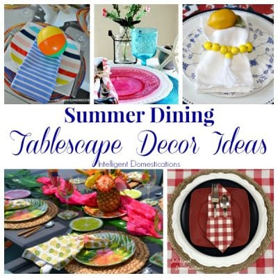 Summer Dining Table Decor Ideas (Merry Monday 216)