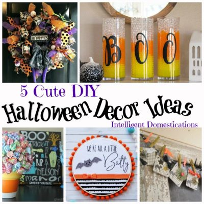 5 Cute Halloween Decor Ideas