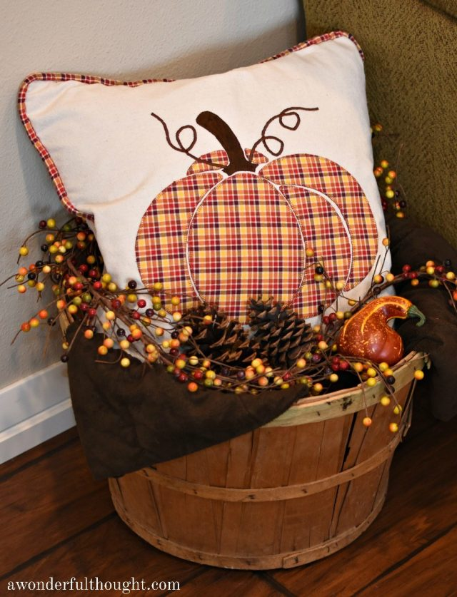 How to decorate for Fall with Pumpkins