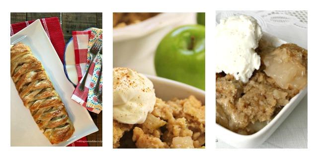 Apple dessert recipe ideas for fall food. Delicious fall recipe ideas using apples.#apples #dessert