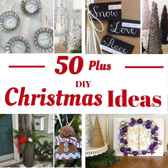 Over 50 DIY Christmas Ideas - 12 Days Of Christmas 2018