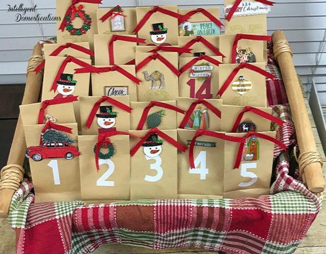 How to make a Paper Bag Christmas Countdown Calendar