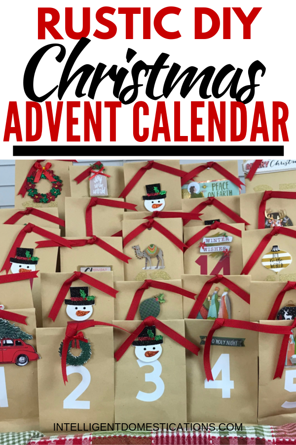 Make this easy DIY paper bag advent calendar for the kids to enjoy the anticipation of Christmas Day. You can stuff the bags with whatever you like or grab our free printables.