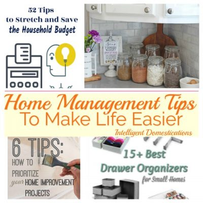 Home Management Tips (Merry Monday 241)