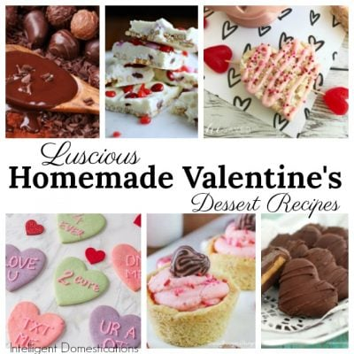 Valentine's Day Dessert Recipes (Merry Monday 240)