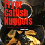 Easy 3 ingredient recipe for making catfish nuggets in the Air Fryer. First batch is done in under 20 minutes. Only 3 ingredients. Tender and meaty recipe. Use this recipe for any kind of fish you want to cook in the Air Fryer. #airfryerrecipe #airfryer