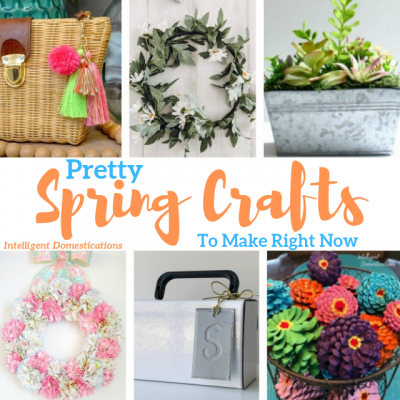 A Week of Spring Craft Ideas (Merry Monday 244)