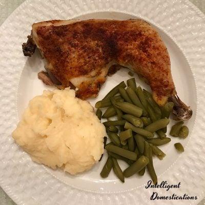 Baked Chicken Leg Quarters Easy Recipe