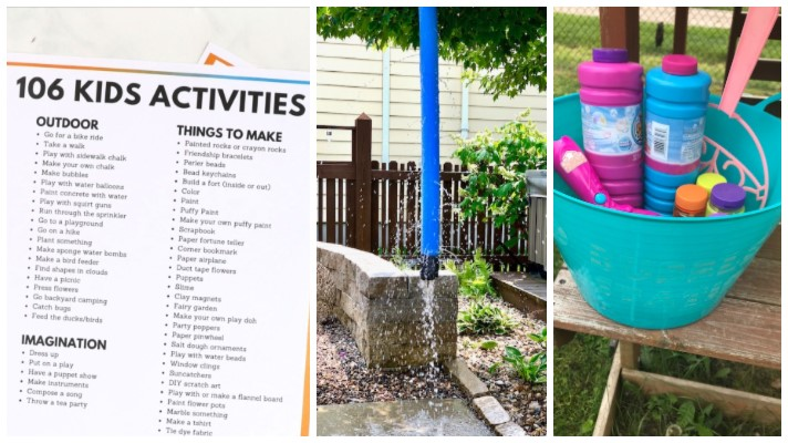 Summer Activities for Kids Ideas