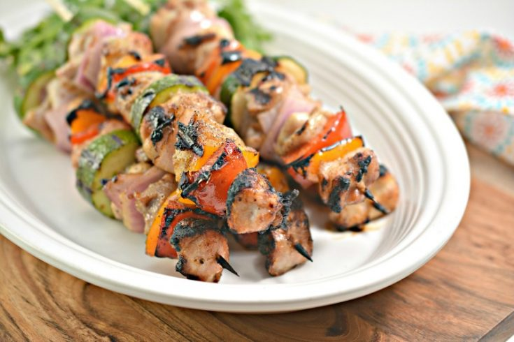 Grilled Chicken Kabobs with Vegetables – Keto Approved