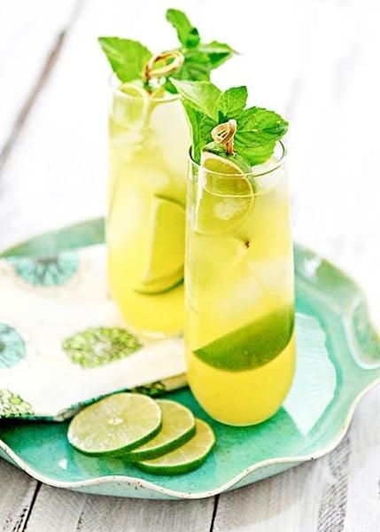 Pineapple Limeade Cooler Recipe