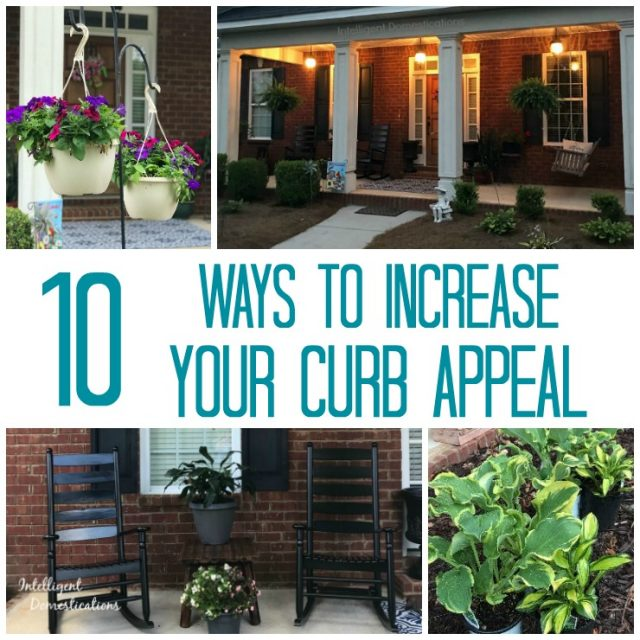 10 Ways to increase your curb appeal.