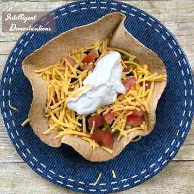 How To Make Taco Salad Bowls