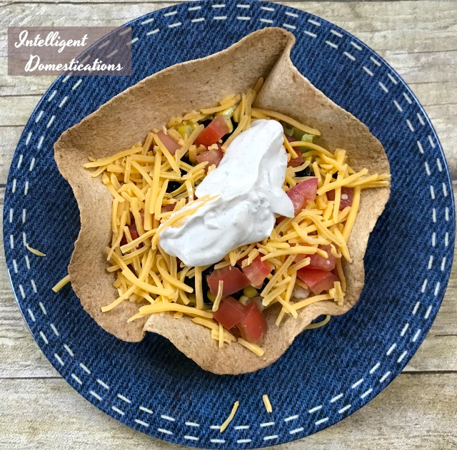 How To Make Taco Salad Bowls