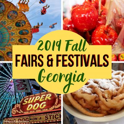 2019 Fall Fairs & Festivals In Georgia