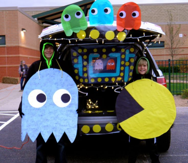 PAC MAN Trunk or Treat