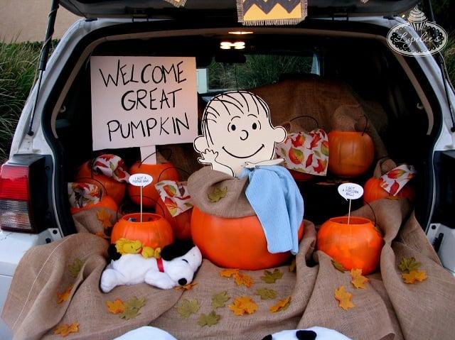 It's the Great Pumpkin Trunk, Charlie Brown! - Lynlees