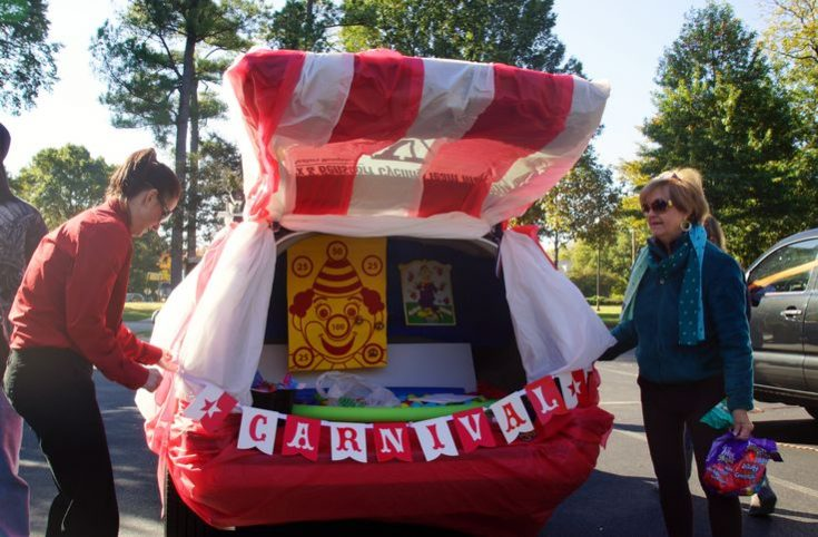 Carnival Trunk or Treat | Trunk or Treat and Fall Festival Ideas | Trunk or treat, Truck or treat, Halloween treats