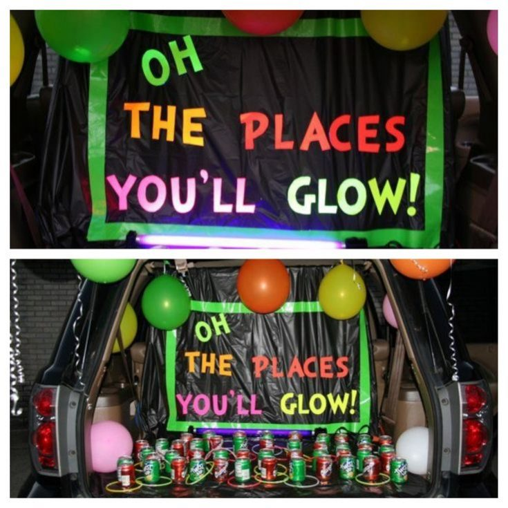 Glow in the Dark Trunk!