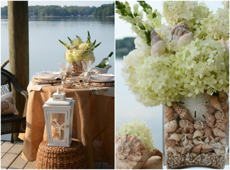 Dockside, Lakeside and Seaside Table for Two