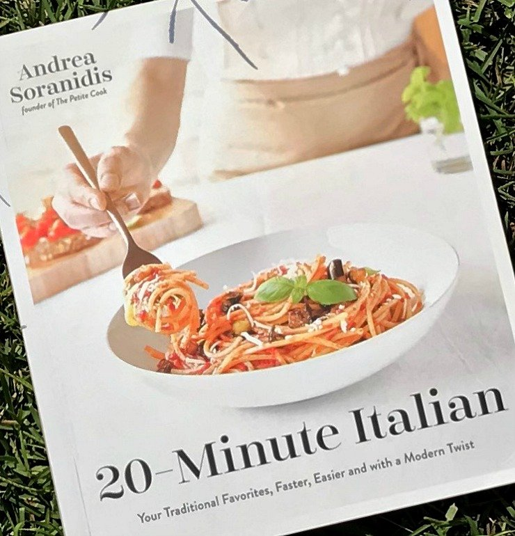 20 Minute Italian Cookbook. Your traditional favorites, easier and with a modern twist.