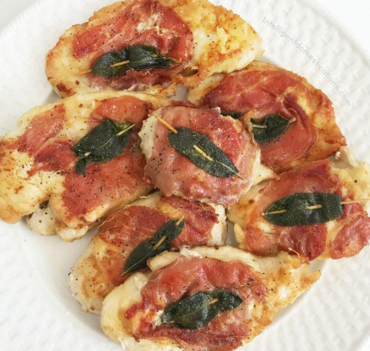 Chicken Prosciutto easy recipe.