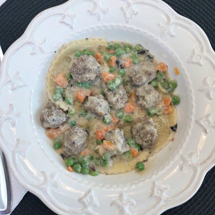 Italian Sausage & Tortellini Skillet Meal