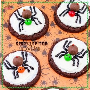 Spooky Spider Cookies Recipe