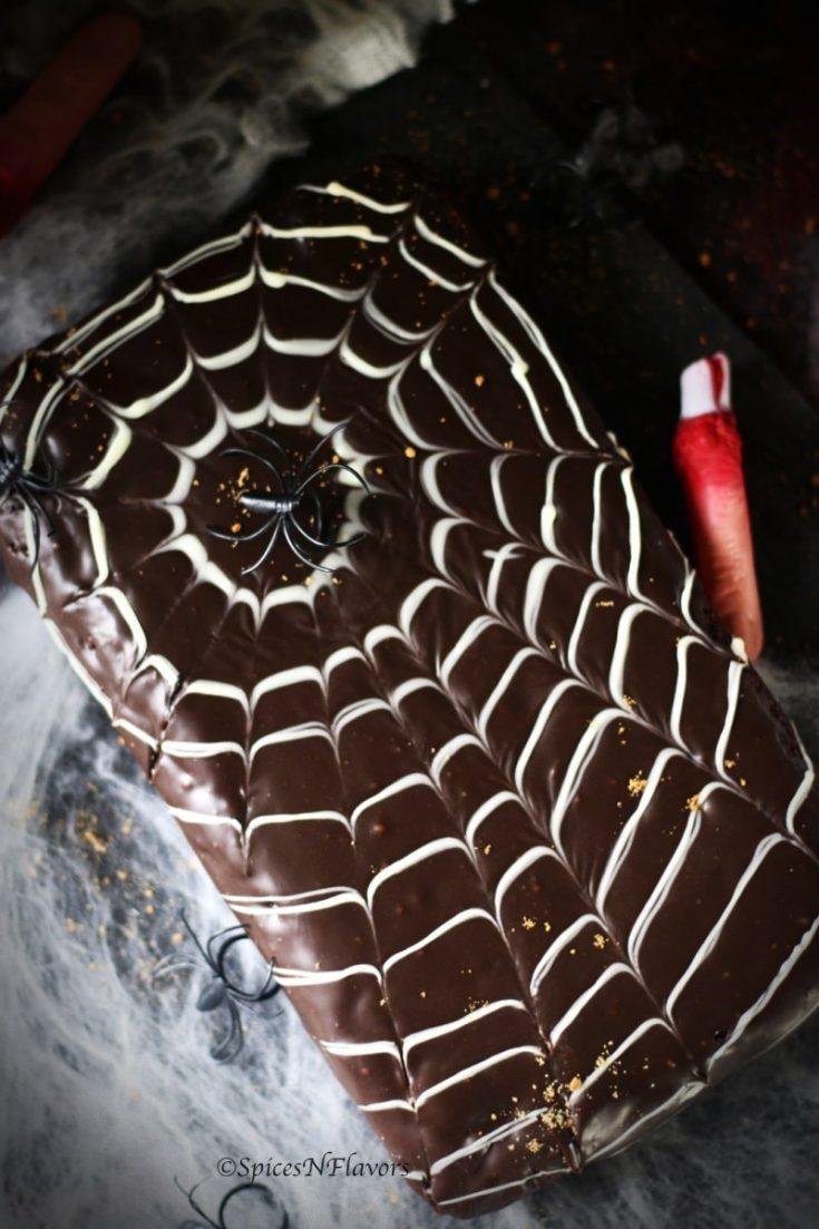 Spider Web Cake | Easy Halloween Cakes