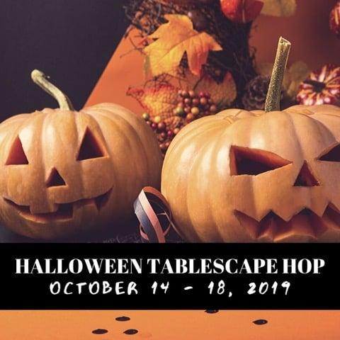 Halloween Tablescape Hop 2019