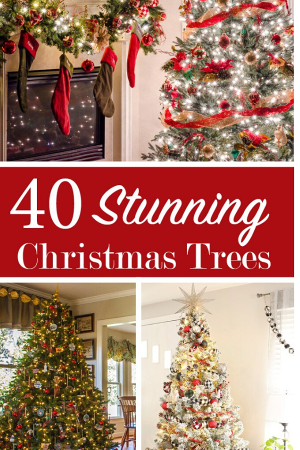 40 Stunning Decorated Christmas Tree ideas