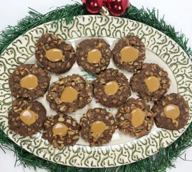 Chocolate Pecan Thumbprint Cookies - Intelligent Domestications