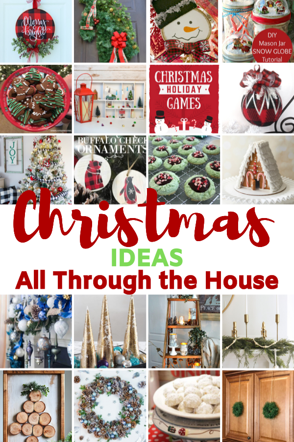 Large collection of Handmade Christmas Crafts and recipes