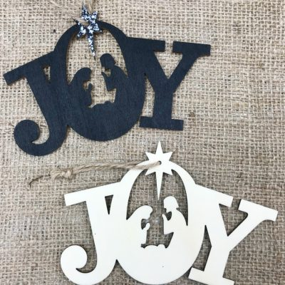 Simple And Easy Nativity Christmas Ornaments