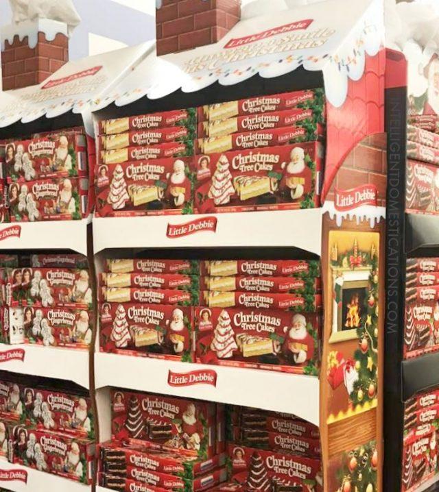 Little Debbie Christmas Tree cakes are one of Grandmas secrets